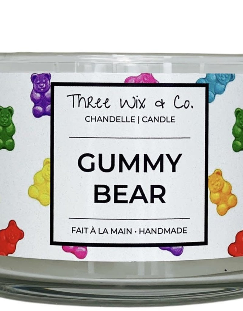 Chandelle Three Wix & Co - Gummy bear 12oz