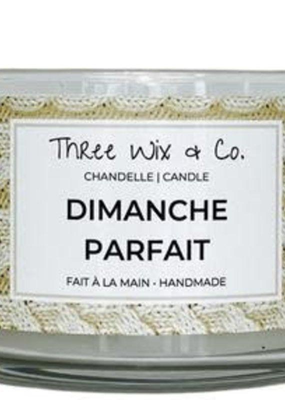 Chandelle Three Wix & Co - Dimanche parfait 12oz