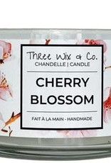 Chandelle Three Wix & Co - Cherry blossom 12oz