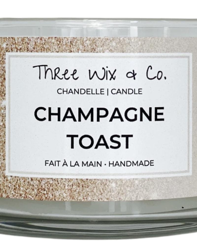 Chandelle Three Wix & Co - Champagne toast 12oz