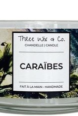 Chandelle Three Wix & Co - Caraïbes 12oz