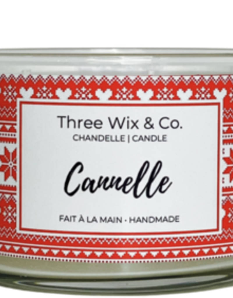 Chandelle Three Wix & Co - Cannelle 12oz