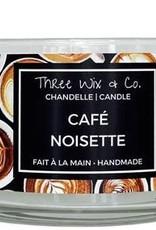 Chandelle Three Wix & Co - Café noisette 12oz