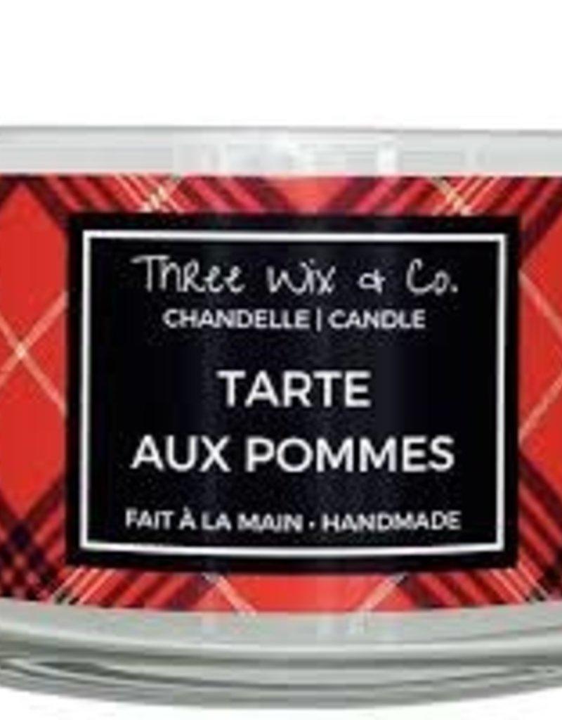 Chandelle Three Wix & Co - Tarte aux pommes 12oz