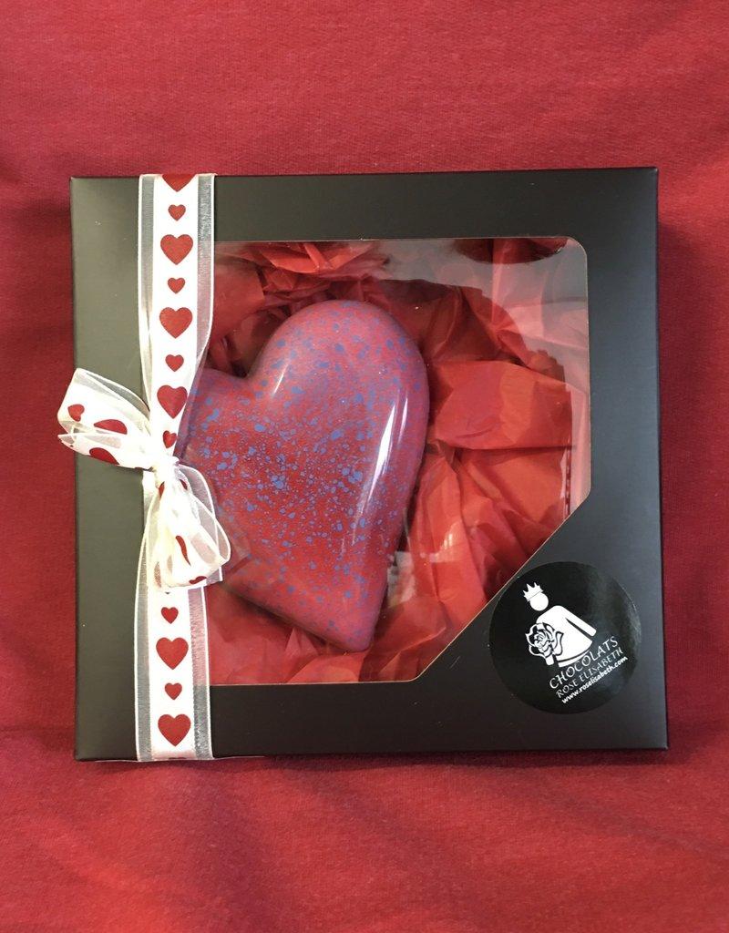 Coeur gourmand chocolat au lait - 12 minis coeurs