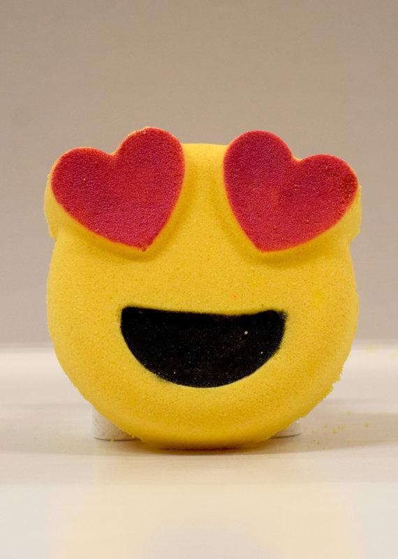 Bombe de bain Emoji - Coeur