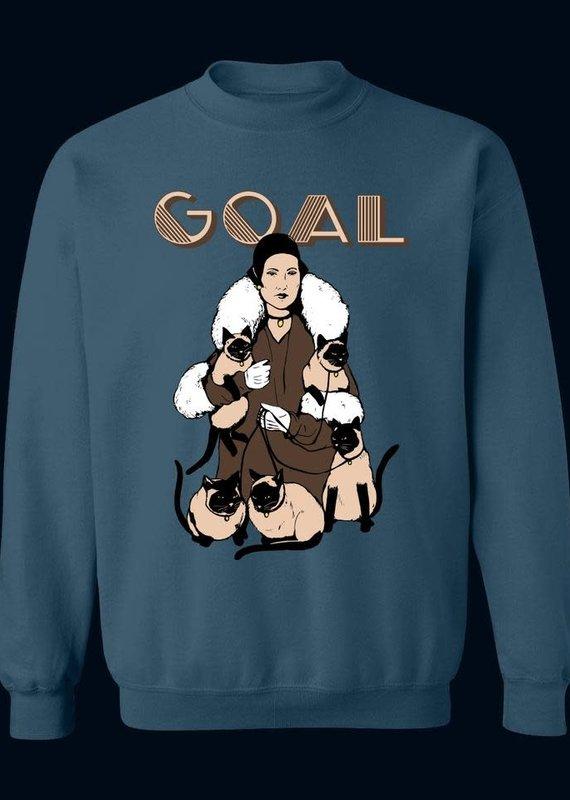 """Crewneck """"Goal"""" - Large"""