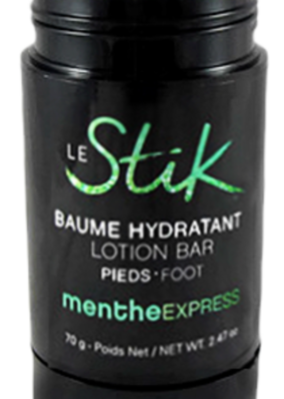 Baume hydratant pieds - Menthe Express