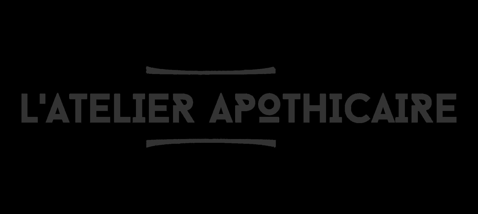 L'atelier apothicaire