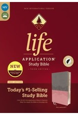 Life Application Bible, Pink, Indexed