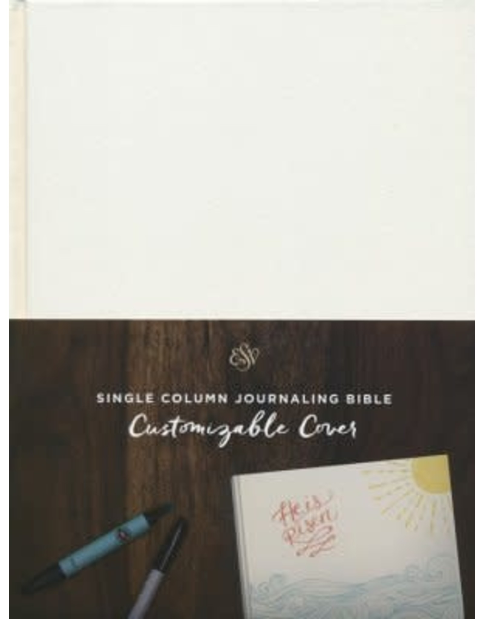 ESV Journaling Bible, Custom Cover
