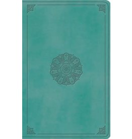 ESV Large Print Value Thinline Bible, Turquoise