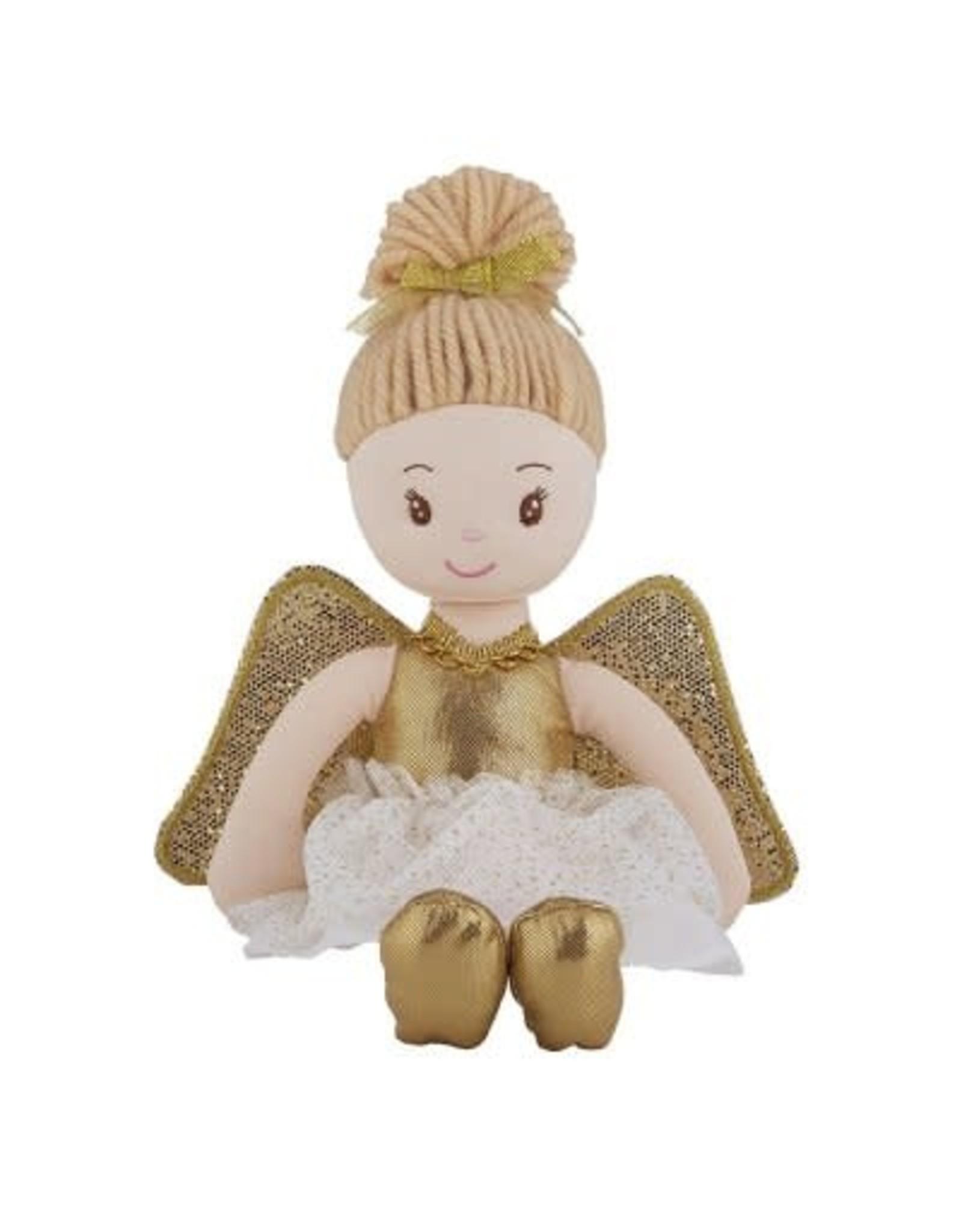 Gold Angel Doll