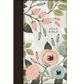 NIV Thinline Bible, Floral