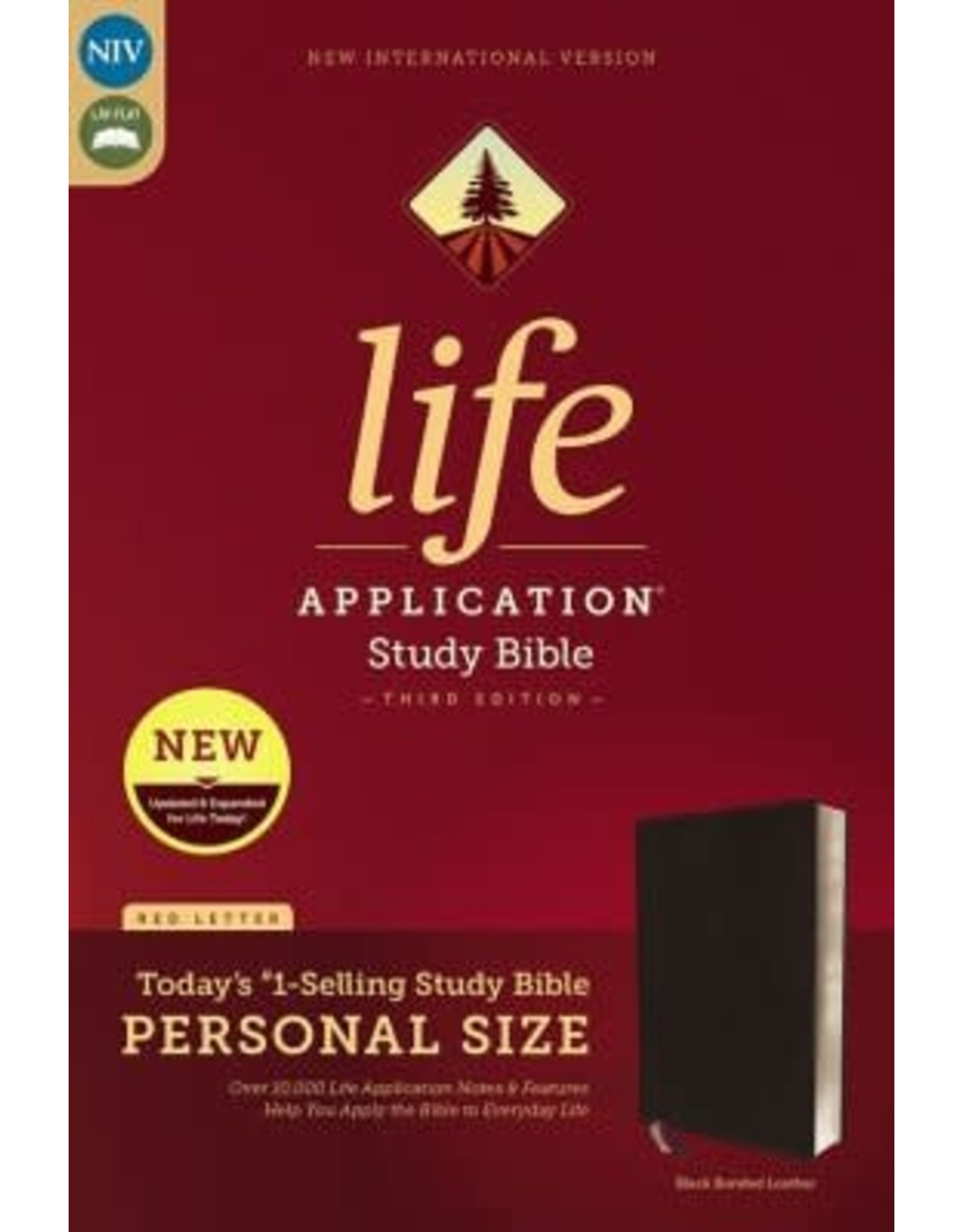Life Application Study Bible, Black Bonded Leather, Indexed
