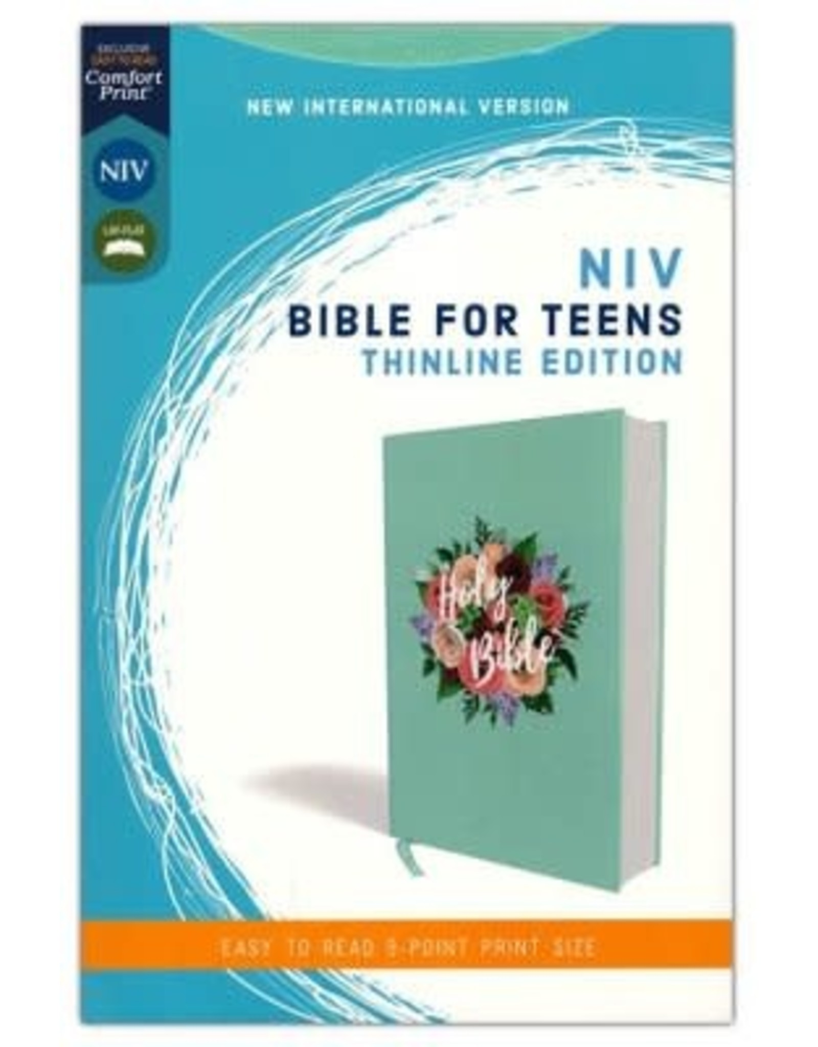 NIV Floral Bible for Teens