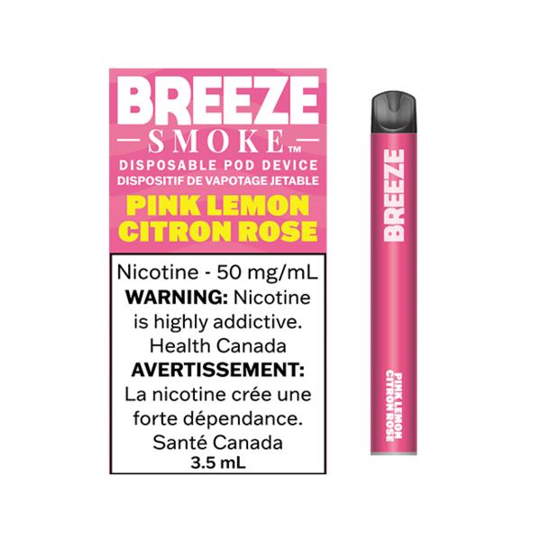 Breeze Smoke Pink Lemon