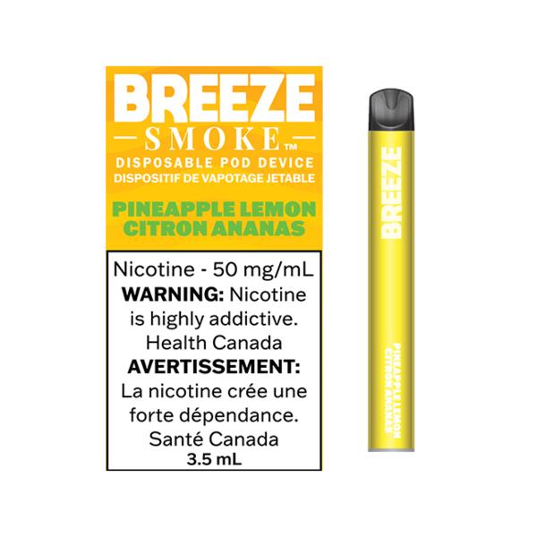 Breeze Smoke Pineapple Lemon