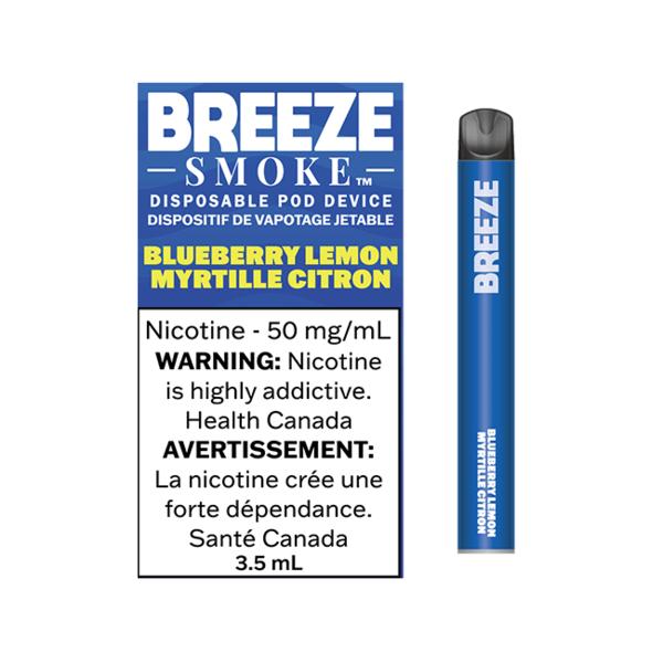 Breeze Smoke Blueberry Lemon