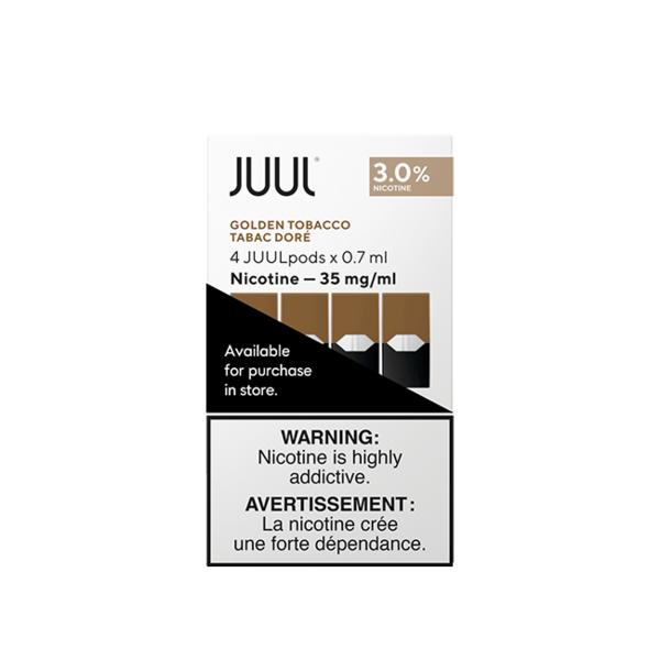 JUUL Golden Tobacco  4/pk