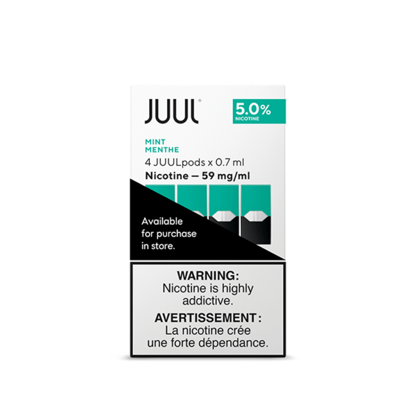 JUUL Mint 4/pk