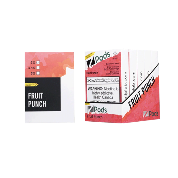 Z-PODS Fruit Punch