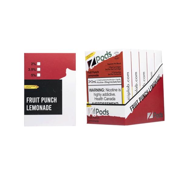 Z-PODS Fruit Punch Lemonade