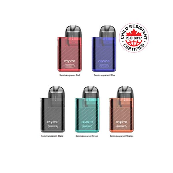 Aspire Aspire Minican+ Kit