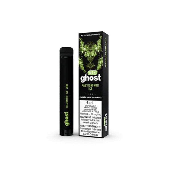 GHOST MAX Passionfruit Ice