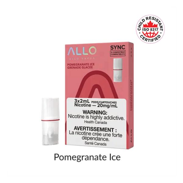 Allo Sync Allo Sync Pomegranate Ice