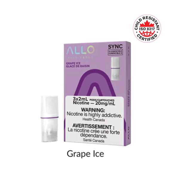 Allo Sync Allo Sync Grape Ice