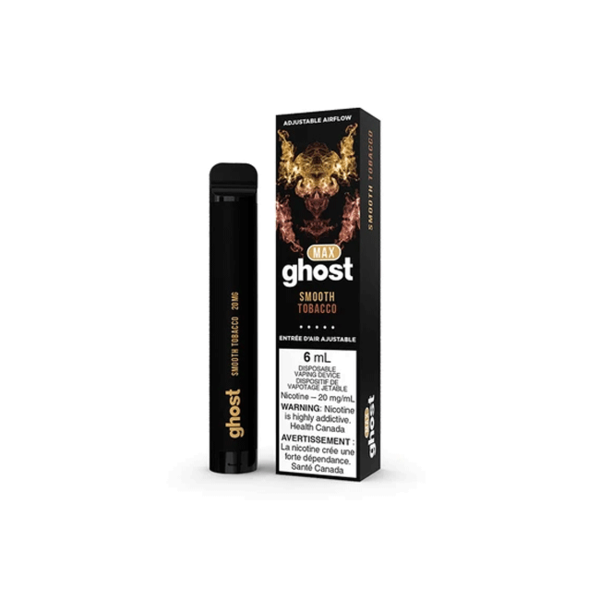 GHOST MAX Smooth Tobacco