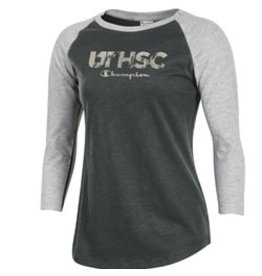 WMNS CHAMPION ROCHESTER UTHSC 3/4 SLEEVE