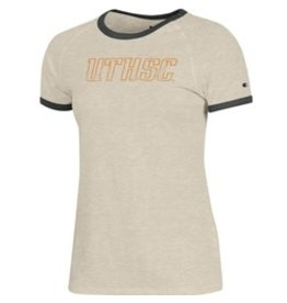 WMNS CHAMPION ROCHESTER UTHSC RINGER TEE