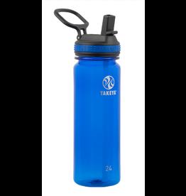 TAKEYA TAKEYA TRITAN PLASTIC WATER BOTTLE - ROYAL