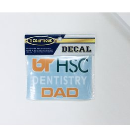 DECAL UTHSC DENTISTRY DAD