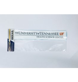 DECAL THE UNIVERSITY OF TENNESSEE HEALTH