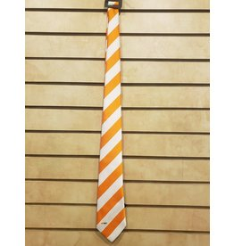 TIE ORANGE AND WHITE STRIPED UTHSC