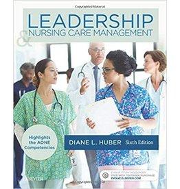 ELSEVIER LEADERSHIP & NURSING CARE MANAGEMENT 6th Edition