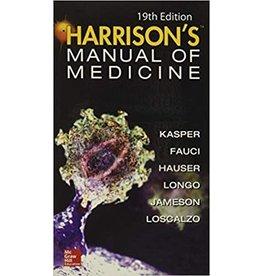 MCGRAW-HILL HARRISON'S MANUAL OF MEDICINE 19th Edition