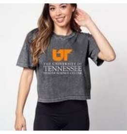 CHICK A DEE SHORT N' SWEET TEE GRAPHITE