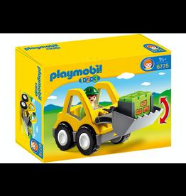 Playmobil 1.2.3 Front Loader 6775