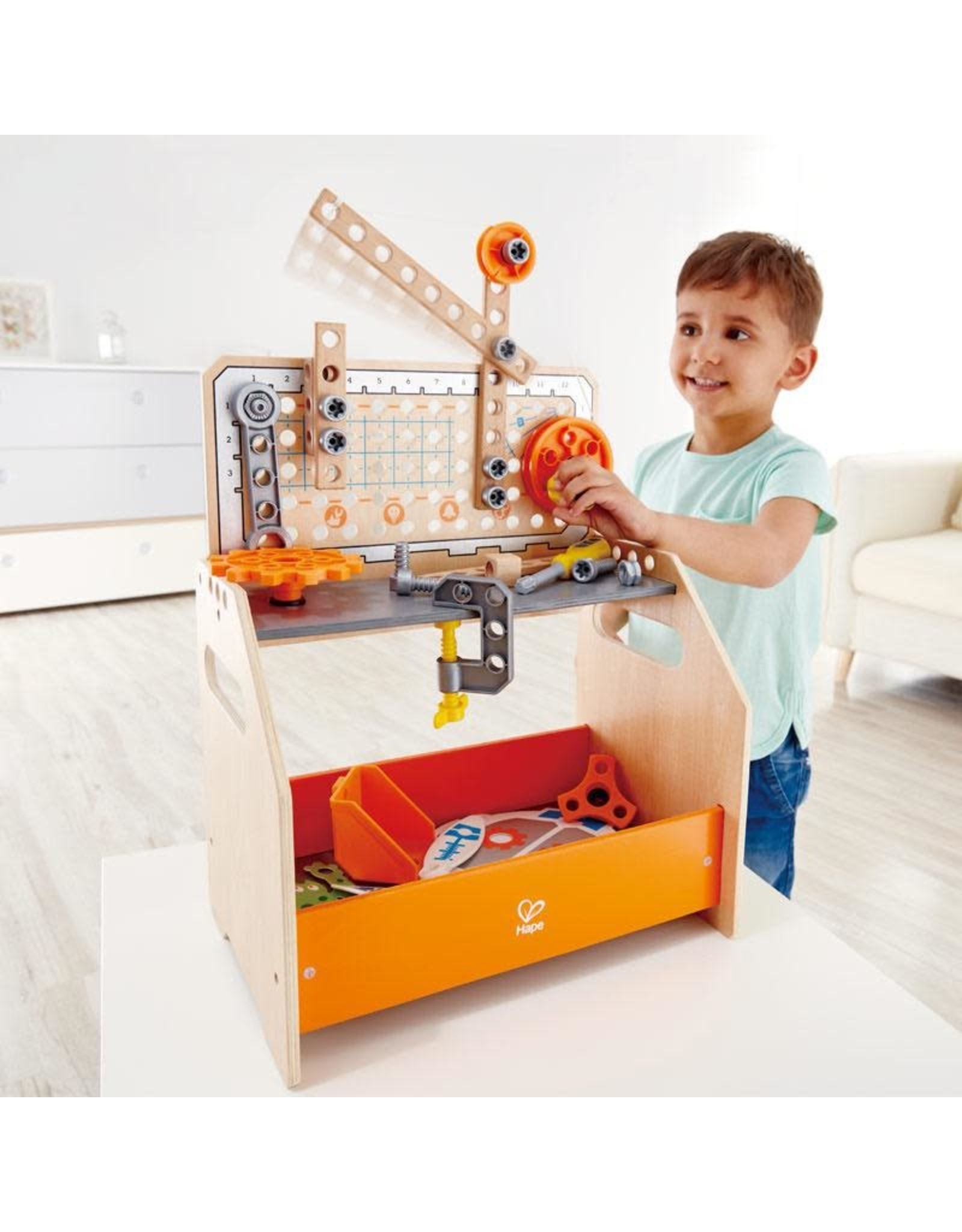 Hape Junior Inventor Discovery Scientific Workbench