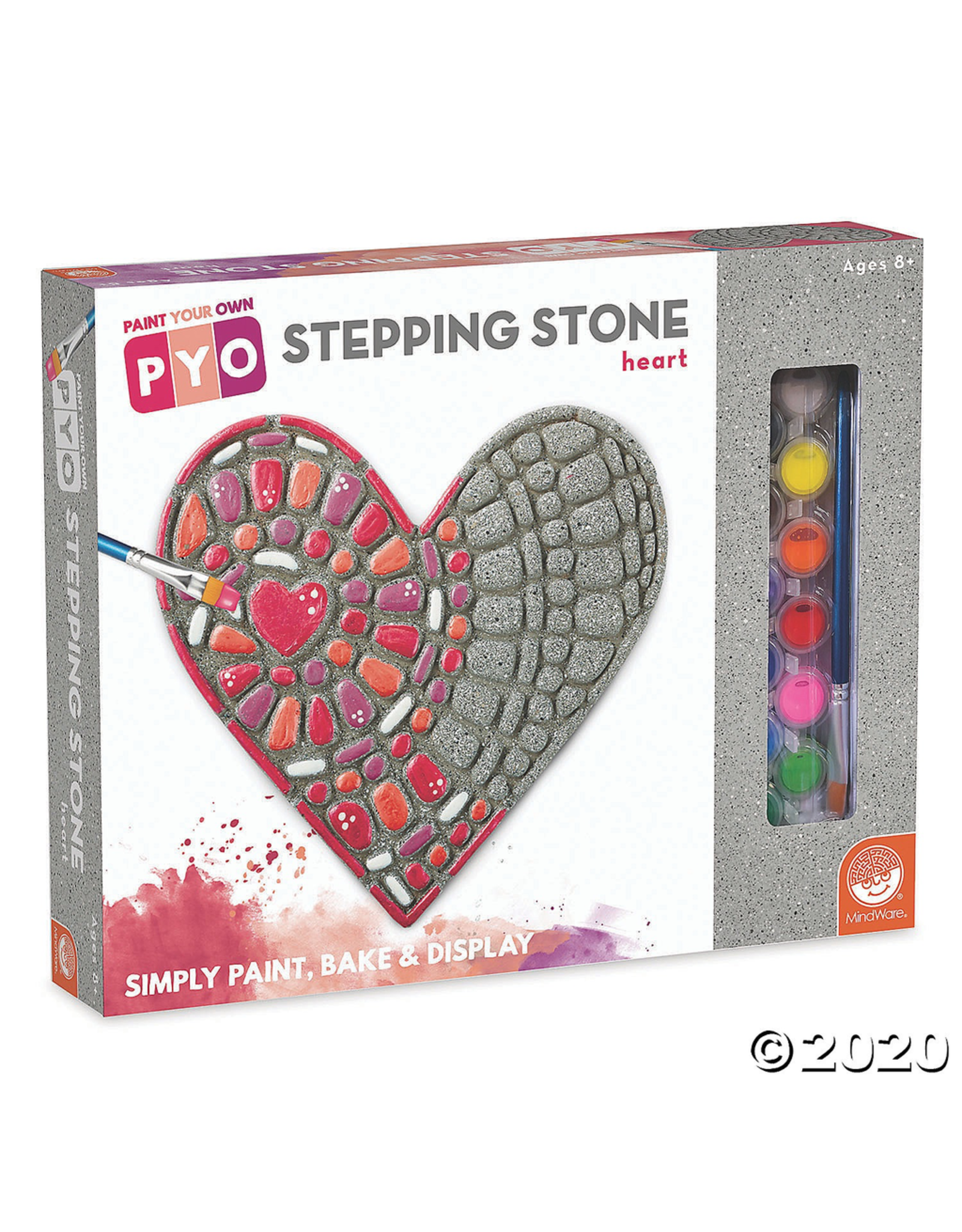 MindWare Paint Your Own Stepping Stone - Heart