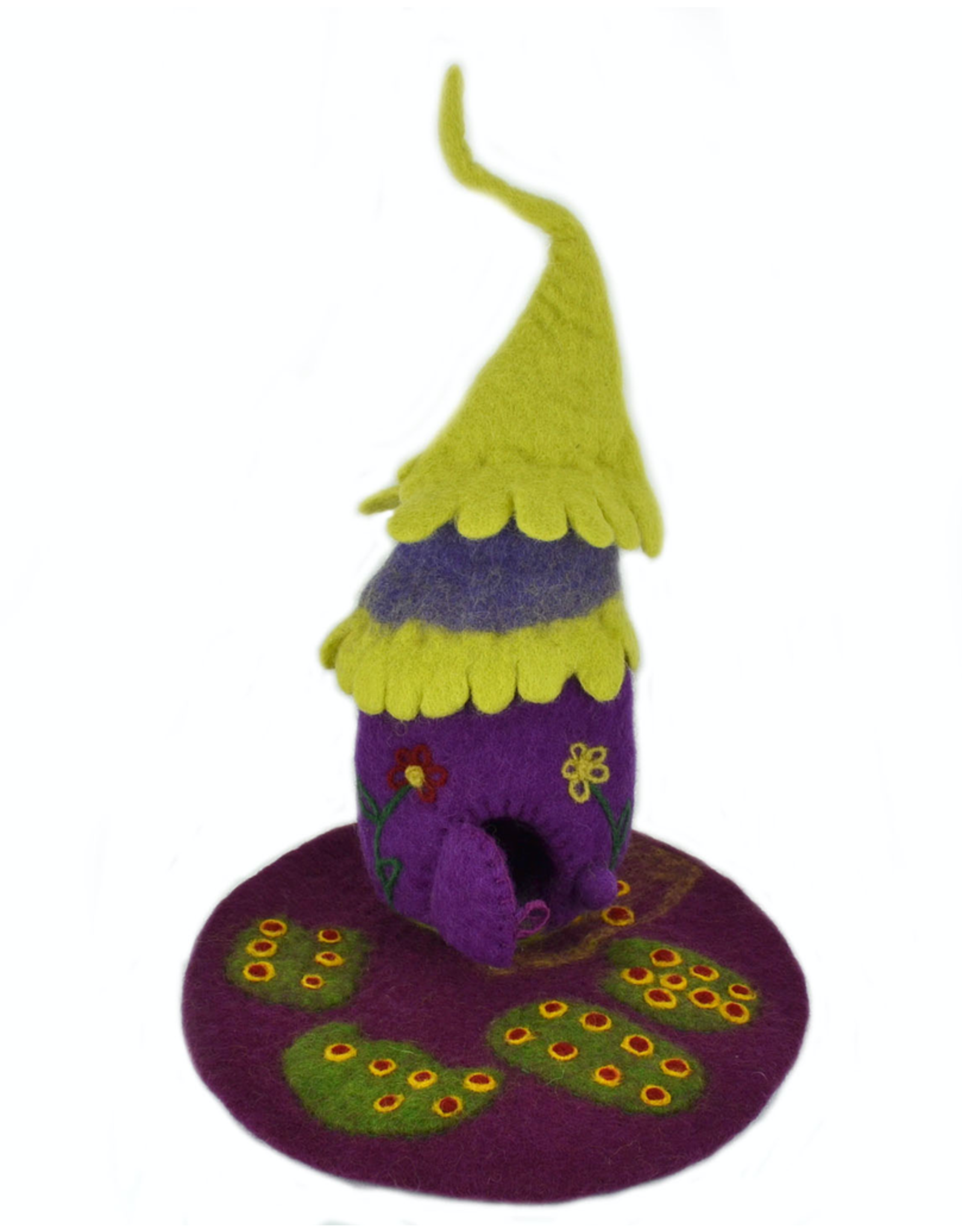 Papoose Fairy House With Mat
