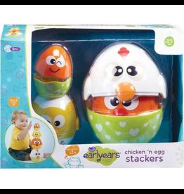 International Playthings Chicken 'N Egg Stackers