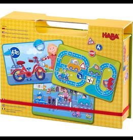 HABA Magnetic Game Box Street Sense