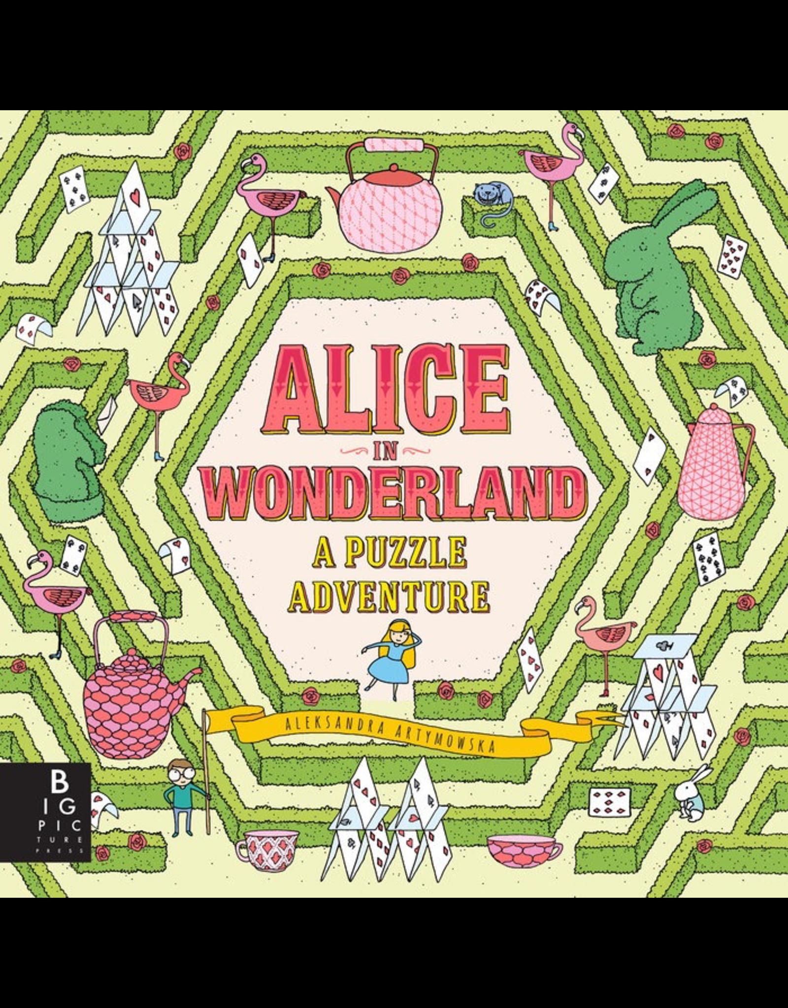 Penguin Random House Canada Alice In Wonderland: A Puzzle Adventure