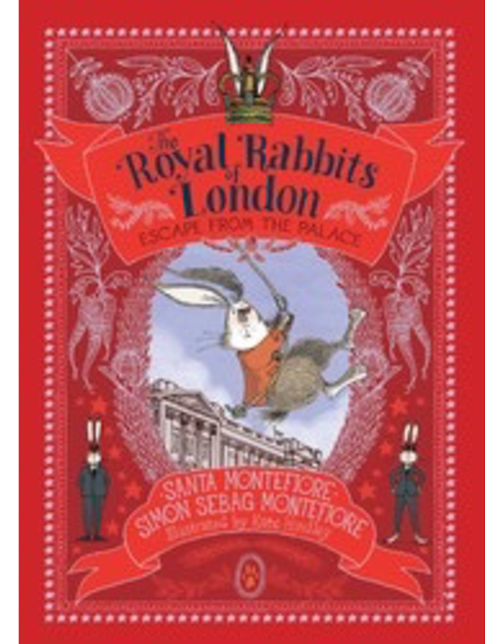 Simon and Schuster The Royal Rabbits Of London Escape From The Palace  Book #2
