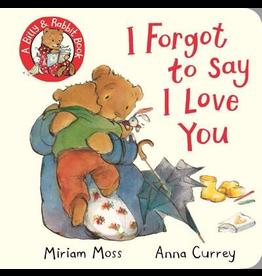 Raincoast Books I Forgot To Say I Love You